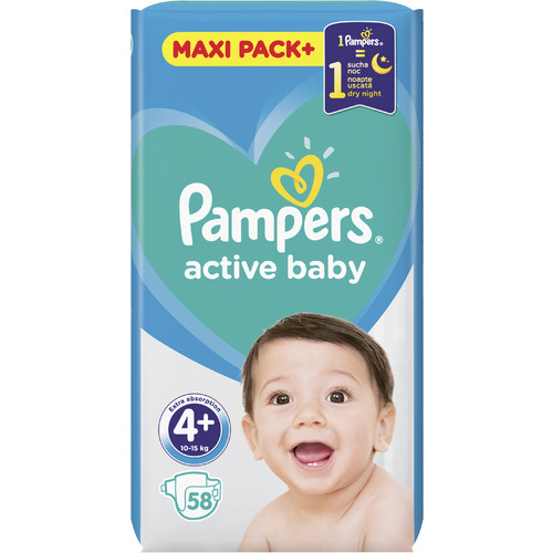 Pampers Active Baby Maxi Pack slika 5