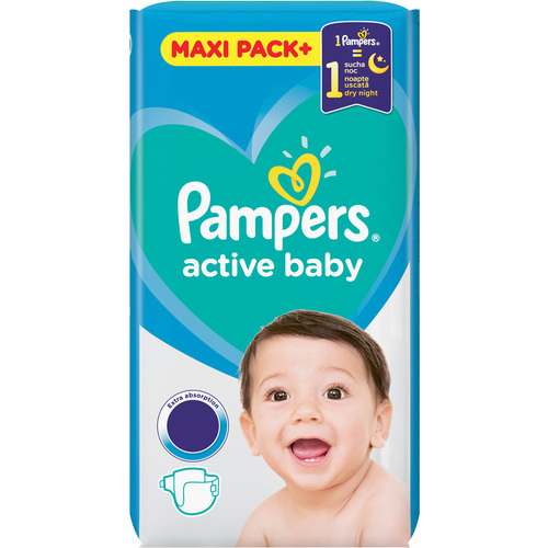 Pampers Active Baby Maxi Pack slika 1
