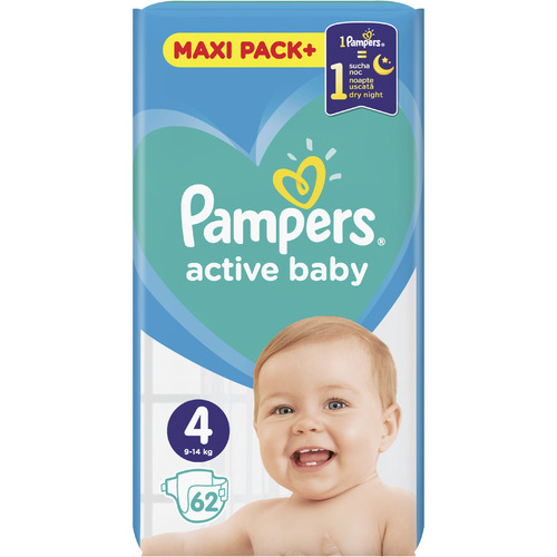 Pampers Active Baby Maxi Pack slika 4