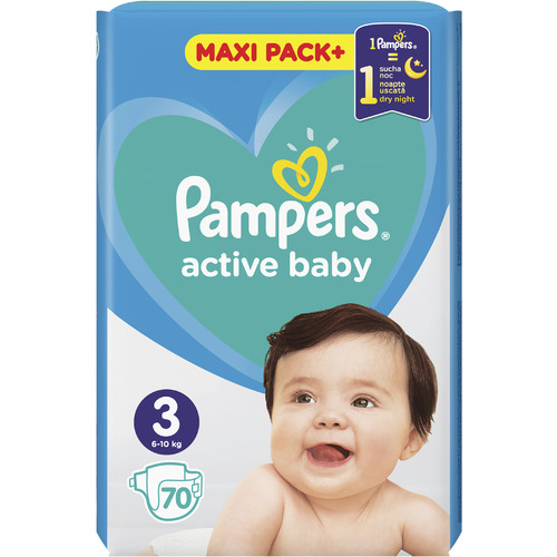 Pampers Active Baby Maxi Pack slika 3