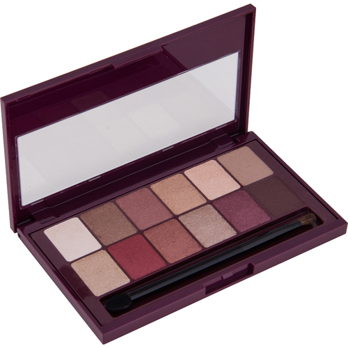 Maybelline New York Burgundy Bar paleta sjenila za oči slika 2